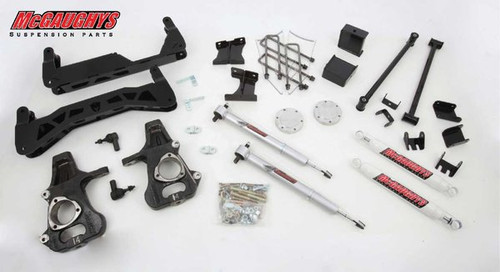 "Chevrolet Silverado 1500 2014-2018 7""-9"" McGaughys Economy Lift Kit"
