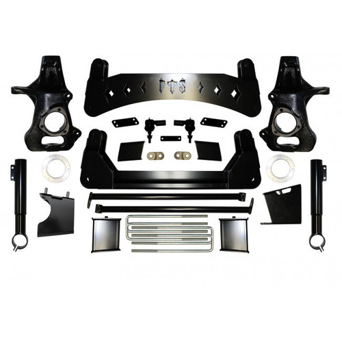 "Chevrolet Silverado 1500 2019 4WD 9"" Full Throttle Suspension Basic Kit"