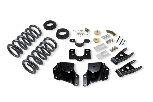 "Chevrolet Silverado 1500 EXT Cab 2005-2007 2-3"" / 4"" Belltech Lowering Kit"