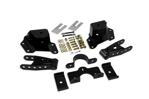"""Ford F-150 Std Cab 1987-1996 Belltech 4"""" Rear Shackle and Hanger Kit"""