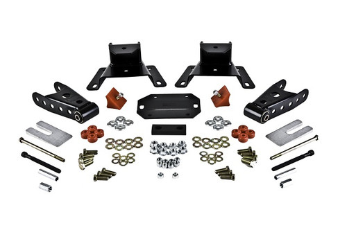 """Ford F-150 Ext Cab 1987-1996 Belltech 4"""" Rear Shackle and Hanger Kit"""