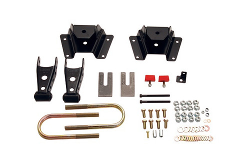"""Ford F-150 1997-2003 Belltech 4"""" Rear Shackle and Hanger Kit"""