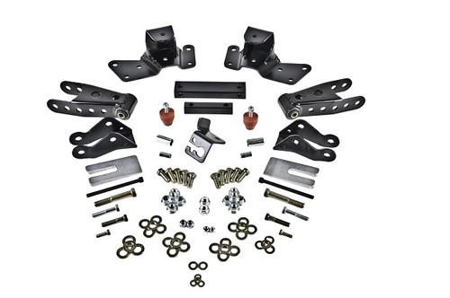 GMC C2500 Sierra 1500 2wd Crew Cab 1997-2000 Belltech Rear Drop Kit