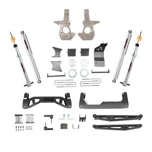 """GMC Sierra 1500 2014-2018 4wd Belltech 7-9"""" Lift Kit"""