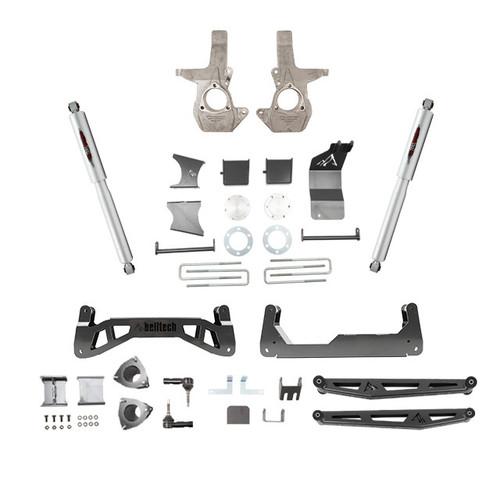 """GMC Sierra 1500 2007-2013 4wd Belltech 7"""" Lift Kit"""