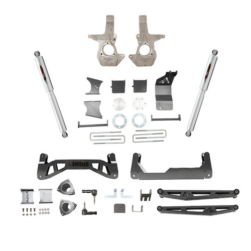 "Chevrolet Silverado 1500 2014-2018 4wd Belltech 7"" Lift Kit"