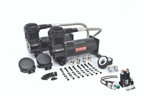 Viair 444C Compressor Dual Pack, w/ Free Pressure Switch and 80amp Relay