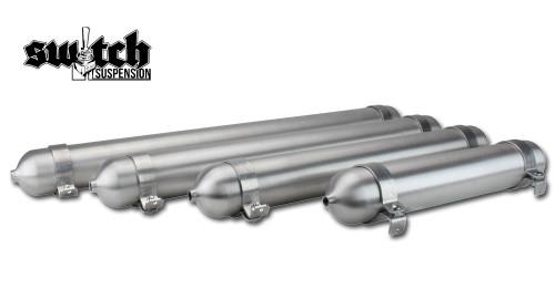 """Seamless Tanks 2.5"""" Spun Aluminum Air Tank"""