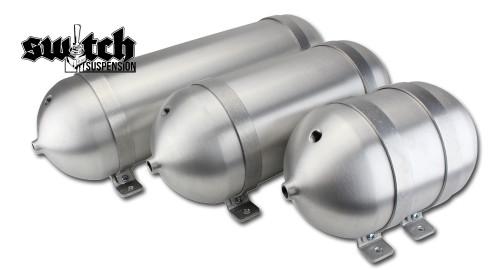 """Seamless Tanks 5"""" Spun Aluminum Air Tank"""