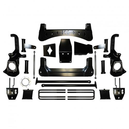 "Chevrolet Silverado 3500HD 2020 Full Throttle 7-9"" Lift Kit"