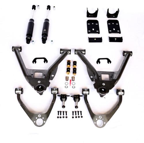 """GMC Sierra 1500 2007-2013 IHC Suspension 4"""" or 5""""/6"""" Lowering Kit"""