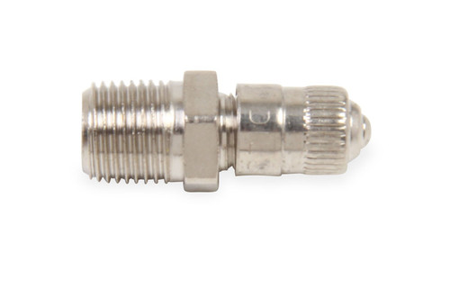 "1/8"" MALE NPT Schrader Valve; Nickle Plated"