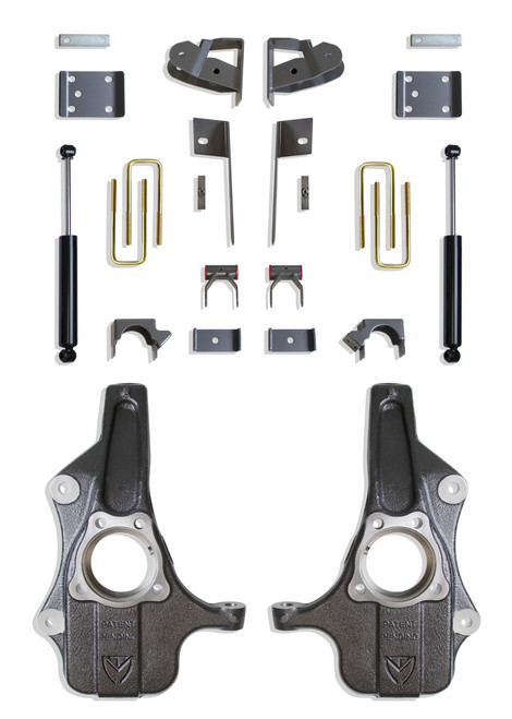 GMC Sierra 1500 2019-2021 Maxtrac Deluxe 2/4 Lowering Kit