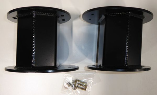 """Dodge Ram 3500 4wd 2013-2020 Rear Air Bag Spacer 4WD (Fits 4"""" Lift Kit)"""