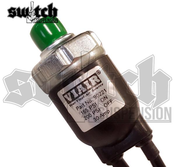 Viair Sealed Pressure Switch 165 PSI on 200 Off - Viair Part #90221