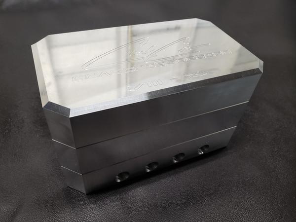 Chad Criss Designs 8XL 4-Corner Billet Manifold Valve