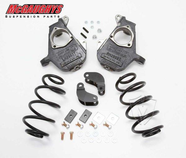 GMC Yukon XL LD Shocks 2001-2006 2/3 Deluxe Drop Kit - McGaughys Part# 11010