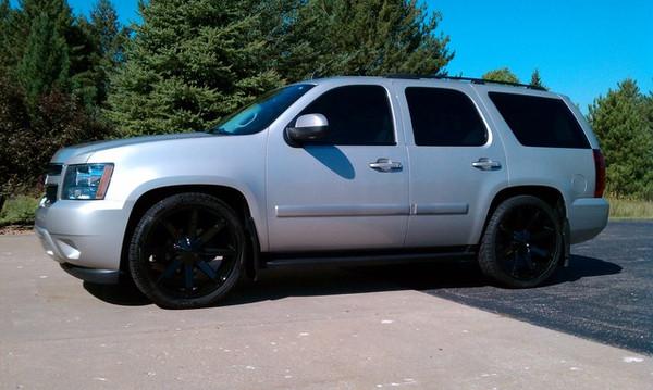 """2/3 Deluxe Drop Kit - 24"""" Wheels - 295/35/24 Tires"""