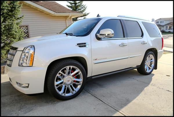 Cadillac Escalade 2007-2014 2/3 Deluxe Drop Kit - McGaughys Part# 30009