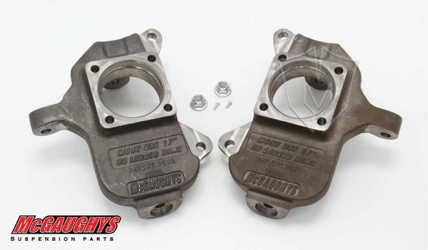 "Chevrolet Silverado 1500HD 2001-2010 Front 2"" Drop Spindles - McGaughys Part# 33078"