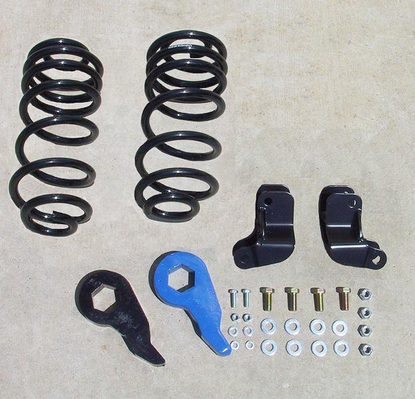 Hummer H2 Rear Coil Suspension 2003-2009 2/3 Economy Drop Kit - McGaughys Part# 33094