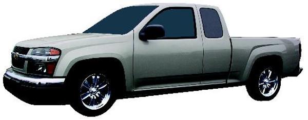 Chevrolet Colorado Extended Cab 2004-2012 2/3 Economy Drop Kit - McGaughys Part# 33101