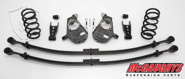 GMC Sierra 1500 Extended Cab 2007-2013 3/5 Deluxe Drop Kit - McGaughys Part# 34002