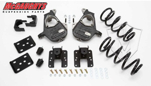 GMC Sierra 1500 Extended Cab 2007-2013 3/5 Deluxe Drop Kit - McGaughys Part# 34005
