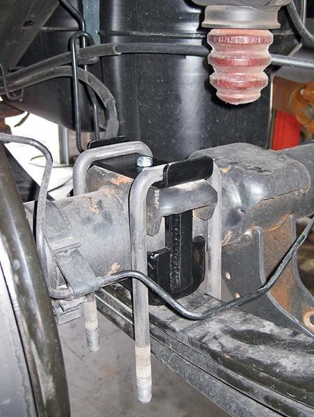 """Chevrolet Silverado 1500 2007-2013 Rear 7"""" Drop Axle Flip Kit - McGaughys Part# 34047"""