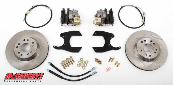 "GM Truck 12 Bolt Rear End - 13"" Rear Disc Brake Kit; 5x5 Bolt Pattern - McGaughys Part# 64202"