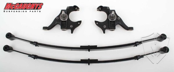 Chevrolet S-10 1982-2003 2/3 Deluxe Drop Kit W/Leaf Springs - McGaughys Part# 93105