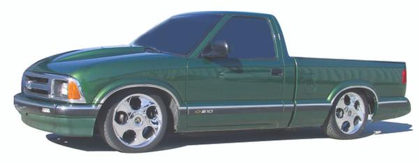 Chevrolet S-10 Standard Cab 1982-2003 4/6 Deluxe Drop Kit W/Leaf Springs