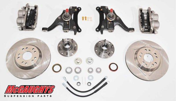 "GMC S-15 Sonoma 1982-2003 13"" Front Disc Brake Kit; 5x4.75 Bolt Pattern - McGaughys Part# 93124"