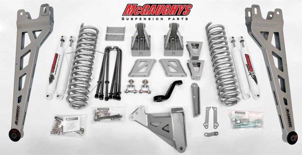 """Ford F-250 4wd 2011-2016 8"""" McGaughys Lift Kit Phase II"""