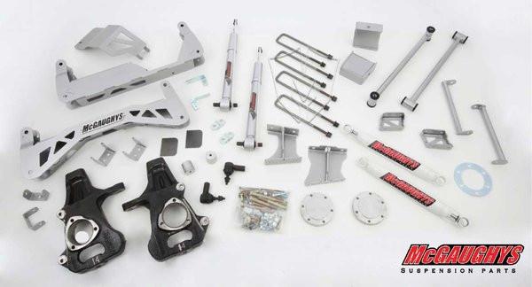 "Chevrolet Silverado 1500 2014-2018 7""-9"" McGaughys Deluxe Lift Kit"