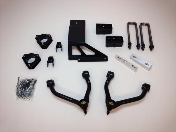 "Chevrolet Silverado 1500 4wd 2007-2013 4"" Lift Kit W/Upper Arms - McGaughys Part# 50759"