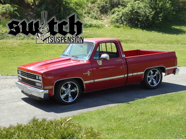 """Chevrolet C-10 1973-1987 Front 2.5"""" Drop Spindles - McGaughys Part# 33153/33154"""