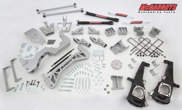 "GMC Sierra 3500HD 2011-2019 7-9"" McGaughys  Lift Kit"