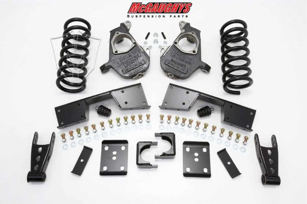 GMC Sierra 1500 2wd Extended/Quad Cab 1999-2006 5/7 Deluxe Drop Kit - McGaughys Part# 93026/93028/93030/93032