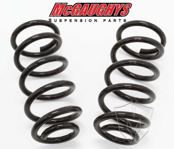 """GMC Sierra 1500 Extended Cab 2007-2018 Front 1"""" Drop Coil Springs - McGaughys Part# 34039"""