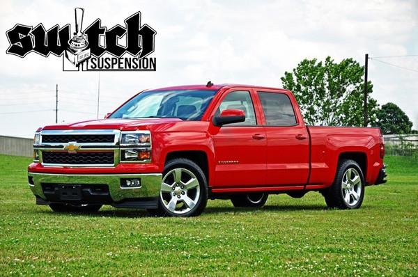 Chevrolet Silverado 1500 2wd 2014-2018 2/4 Deluxe Drop Kit