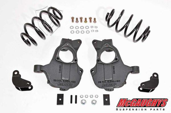 Chevrolet Suburban 2wd 2015-2019 2/3 Deluxe Drop Kit - McGaughys Part# 34213/34214