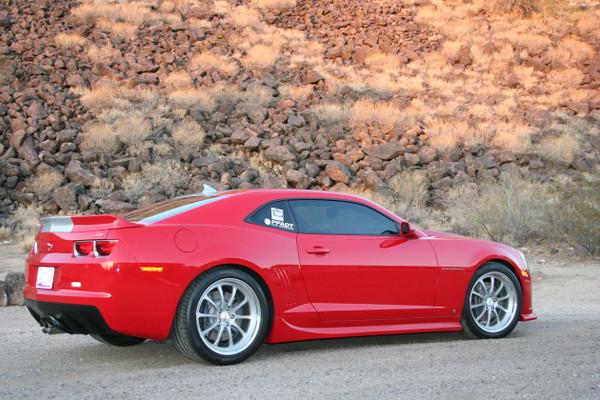 "Chevrolet Camaro 2010-2013 1.25"" Front / 1.5 Rear Drop Kit - McGaughys Part # 83000"