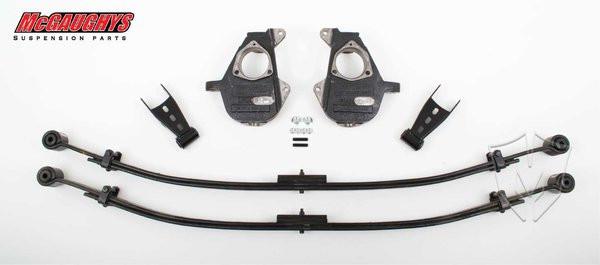 Chevrolet Silverado 1500 2/4wd 2014-2018 2/4 Deluxe Drop Kit - McGaughys Part# 34100/34300