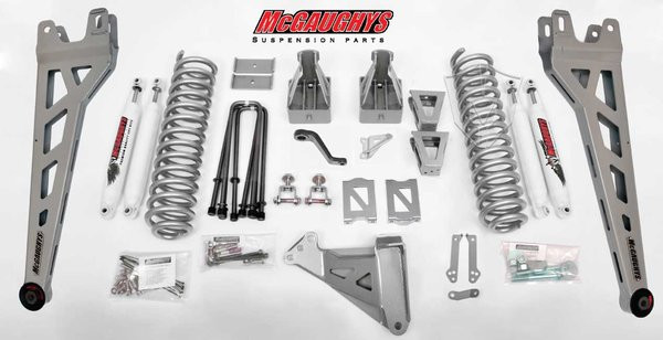 "Ford F350 4wd 2005-2007 6"" Lift Kit W/Shocks Phase II - McGaughys Part# 57332"