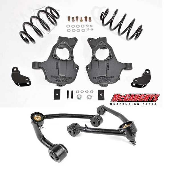 Chevrolet Tahoe 4wd/AWD 2015-2019 2/3 Deluxe Drop Kit - McGaughys Part# 34208