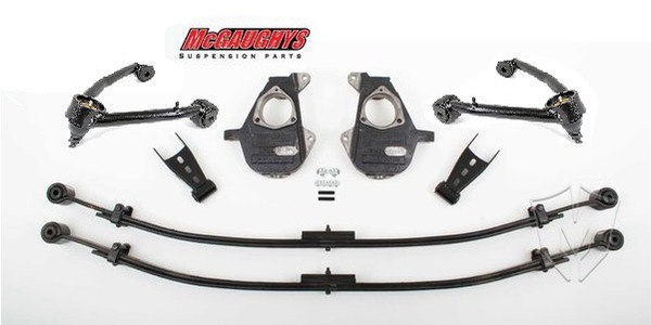 Chevrolet Silverado 4wd/AWD 1500 2014-2018 2/4 Deluxe Drop Kit - McGaughys Part# 34310