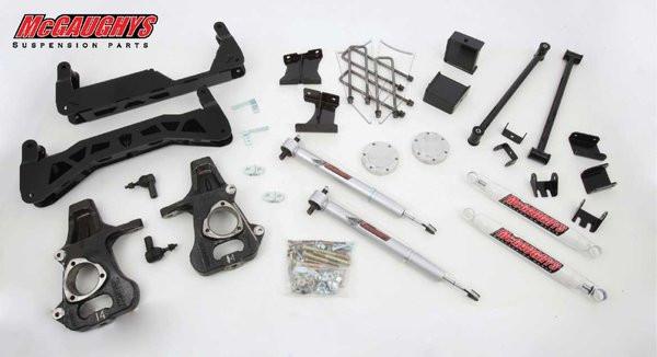 "GMC Sierra 1500 2014-2018 7""-9"" McGaughys Economy Lift Kit"