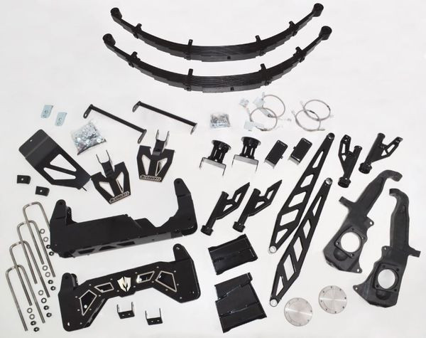 "GMC Sierra 3500HD 2011-2019  McGaughys 10""-12"" SS Lift Kit"