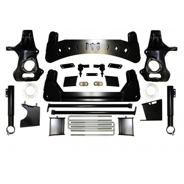 "Chevrolet Silverado 1500 2019 4WD 9"" Full Throttle Suspension Basic Kit"